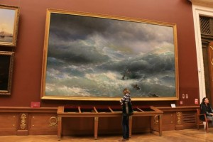 Hakan's favourite painting by Aivazovsky