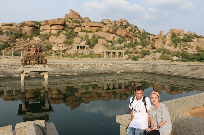 "India: Hampi ""The end of my travel"""